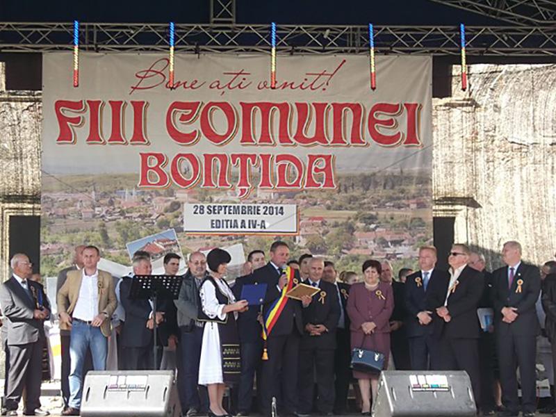Fiii comunei Bontida