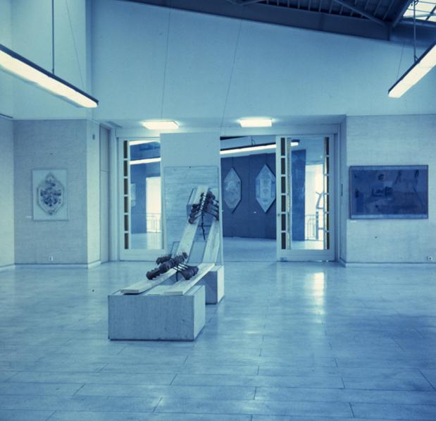 "Expozitia personala ""Desemnul interior"" Art-Expo Bucuresti, 1992"